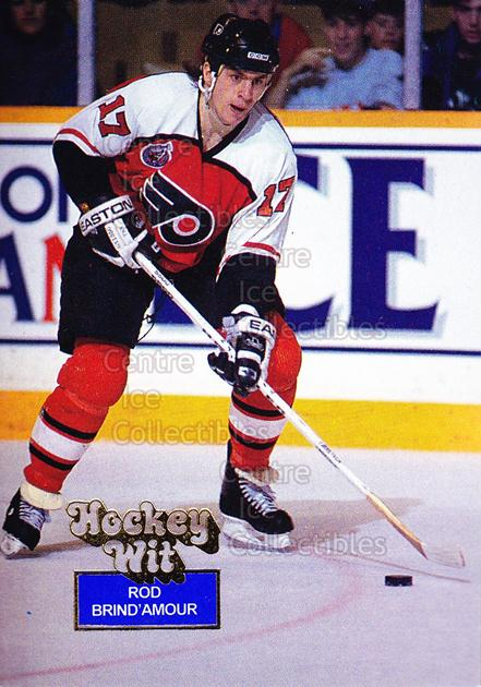 1994-95 Hockey Wit #59 Rod Brind'Amour<br/>10 In Stock - $2.00 each - <a href=https://centericecollectibles.foxycart.com/cart?name=1994-95%20Hockey%20Wit%20%2359%20Rod%20Brind'Amour...&quantity_max=10&price=$2.00&code=2868 class=foxycart> Buy it now! </a>