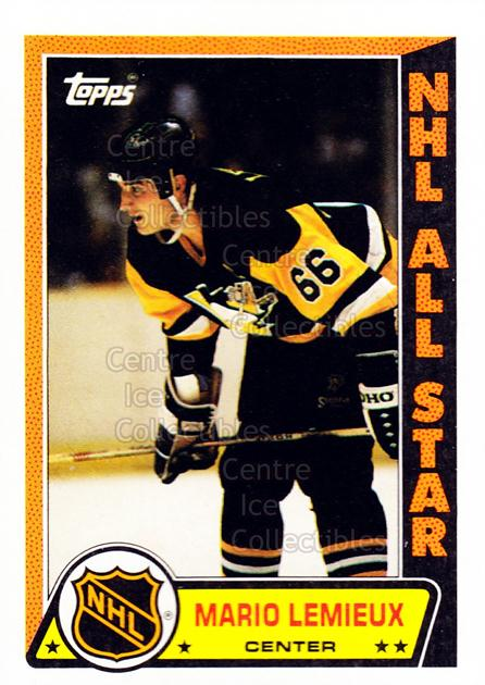 1989-90 Topps Stickers Insert #3 Mario Lemieux<br/>1 In Stock - $5.00 each - <a href=https://centericecollectibles.foxycart.com/cart?name=1989-90%20Topps%20Stickers%20Insert%20%233%20Mario%20Lemieux...&price=$5.00&code=286929 class=foxycart> Buy it now! </a>