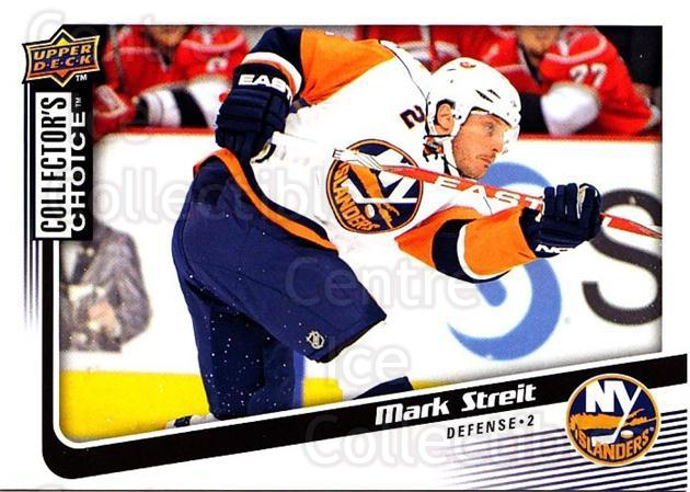 2009-10 Collectors Choice #4 Mark Streit<br/>3 In Stock - $1.00 each - <a href=https://centericecollectibles.foxycart.com/cart?name=2009-10%20Collectors%20Choice%20%234%20Mark%20Streit...&quantity_max=3&price=$1.00&code=286986 class=foxycart> Buy it now! </a>