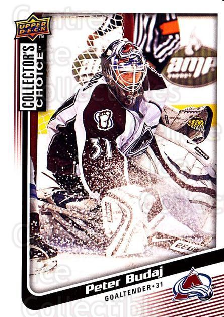 2009-10 Collectors Choice #14 Peter Budaj<br/>4 In Stock - $1.00 each - <a href=https://centericecollectibles.foxycart.com/cart?name=2009-10%20Collectors%20Choice%20%2314%20Peter%20Budaj...&quantity_max=4&price=$1.00&code=286996 class=foxycart> Buy it now! </a>