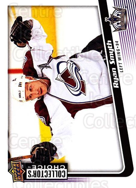 2009-10 Collectors Choice #31 Ryan Smyth<br/>4 In Stock - $1.00 each - <a href=https://centericecollectibles.foxycart.com/cart?name=2009-10%20Collectors%20Choice%20%2331%20Ryan%20Smyth...&quantity_max=4&price=$1.00&code=287013 class=foxycart> Buy it now! </a>