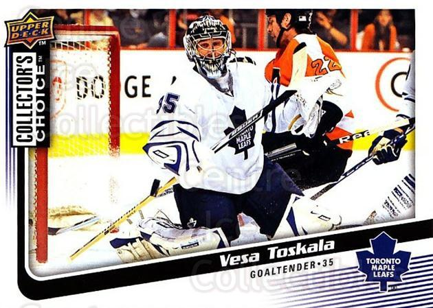 2009-10 Collectors Choice #40 Vesa Toskala<br/>4 In Stock - $1.00 each - <a href=https://centericecollectibles.foxycart.com/cart?name=2009-10%20Collectors%20Choice%20%2340%20Vesa%20Toskala...&quantity_max=4&price=$1.00&code=287022 class=foxycart> Buy it now! </a>