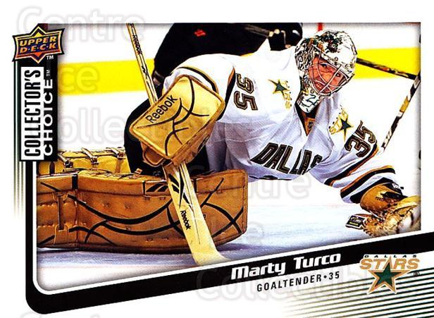 2009-10 Collectors Choice #45 Marty Turco<br/>3 In Stock - $1.00 each - <a href=https://centericecollectibles.foxycart.com/cart?name=2009-10%20Collectors%20Choice%20%2345%20Marty%20Turco...&quantity_max=3&price=$1.00&code=287027 class=foxycart> Buy it now! </a>