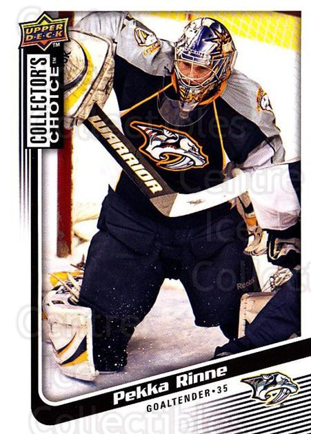 2009-10 Collectors Choice #66 Pekka Rinne<br/>4 In Stock - $1.00 each - <a href=https://centericecollectibles.foxycart.com/cart?name=2009-10%20Collectors%20Choice%20%2366%20Pekka%20Rinne...&quantity_max=4&price=$1.00&code=287048 class=foxycart> Buy it now! </a>