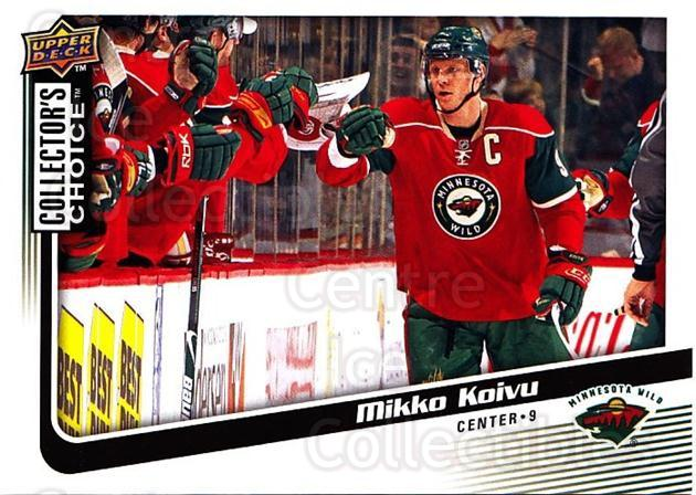 2009-10 Collectors Choice #72 Mikko Koivu<br/>4 In Stock - $1.00 each - <a href=https://centericecollectibles.foxycart.com/cart?name=2009-10%20Collectors%20Choice%20%2372%20Mikko%20Koivu...&quantity_max=4&price=$1.00&code=287054 class=foxycart> Buy it now! </a>