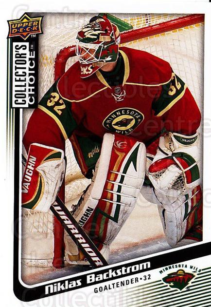 2009-10 Collectors Choice #74 Niklas Backstrom<br/>4 In Stock - $1.00 each - <a href=https://centericecollectibles.foxycart.com/cart?name=2009-10%20Collectors%20Choice%20%2374%20Niklas%20Backstro...&quantity_max=4&price=$1.00&code=287056 class=foxycart> Buy it now! </a>