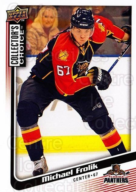 2009-10 Collectors Choice #86 Michael Frolik<br/>4 In Stock - $1.00 each - <a href=https://centericecollectibles.foxycart.com/cart?name=2009-10%20Collectors%20Choice%20%2386%20Michael%20Frolik...&quantity_max=4&price=$1.00&code=287068 class=foxycart> Buy it now! </a>