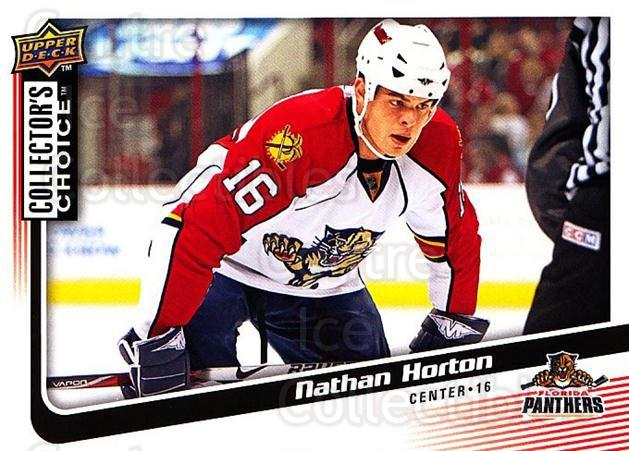 2009-10 Collectors Choice #89 Nathan Horton<br/>4 In Stock - $1.00 each - <a href=https://centericecollectibles.foxycart.com/cart?name=2009-10%20Collectors%20Choice%20%2389%20Nathan%20Horton...&quantity_max=4&price=$1.00&code=287071 class=foxycart> Buy it now! </a>