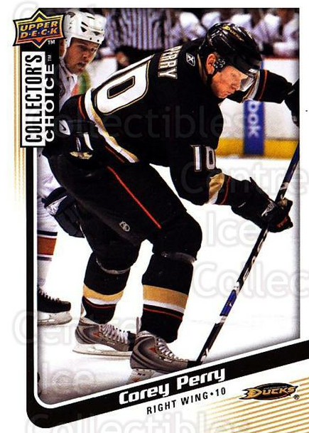 2009-10 Collectors Choice #93 Corey Perry<br/>4 In Stock - $1.00 each - <a href=https://centericecollectibles.foxycart.com/cart?name=2009-10%20Collectors%20Choice%20%2393%20Corey%20Perry...&quantity_max=4&price=$1.00&code=287075 class=foxycart> Buy it now! </a>