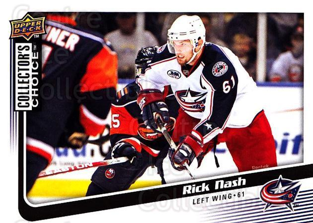 2009-10 Collectors Choice #98 Rick Nash<br/>4 In Stock - $1.00 each - <a href=https://centericecollectibles.foxycart.com/cart?name=2009-10%20Collectors%20Choice%20%2398%20Rick%20Nash...&quantity_max=4&price=$1.00&code=287080 class=foxycart> Buy it now! </a>