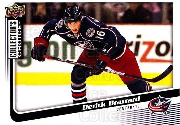 2009-10 Collectors Choice #102 Derick Brassard<br/>4 In Stock - $1.00 each - <a href=https://centericecollectibles.foxycart.com/cart?name=2009-10%20Collectors%20Choice%20%23102%20Derick%20Brassard...&quantity_max=4&price=$1.00&code=287084 class=foxycart> Buy it now! </a>