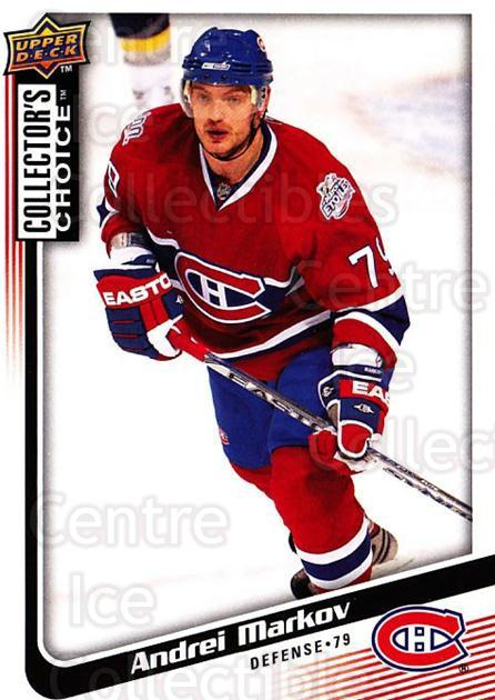 2009-10 Collectors Choice #111 Andrei Markov<br/>4 In Stock - $1.00 each - <a href=https://centericecollectibles.foxycart.com/cart?name=2009-10%20Collectors%20Choice%20%23111%20Andrei%20Markov...&quantity_max=4&price=$1.00&code=287093 class=foxycart> Buy it now! </a>