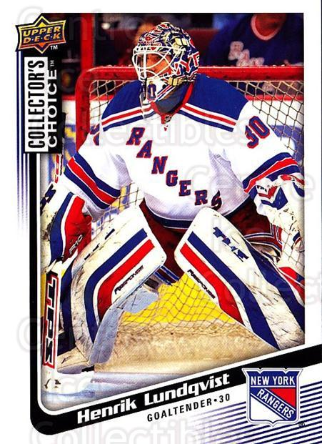 2009-10 Collectors Choice #119 Henrik Lundqvist<br/>3 In Stock - $2.00 each - <a href=https://centericecollectibles.foxycart.com/cart?name=2009-10%20Collectors%20Choice%20%23119%20Henrik%20Lundqvis...&quantity_max=3&price=$2.00&code=287101 class=foxycart> Buy it now! </a>