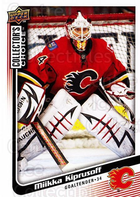 2009-10 Collectors Choice #128 Miikka Kiprusoff<br/>4 In Stock - $1.00 each - <a href=https://centericecollectibles.foxycart.com/cart?name=2009-10%20Collectors%20Choice%20%23128%20Miikka%20Kiprusof...&quantity_max=4&price=$1.00&code=287110 class=foxycart> Buy it now! </a>
