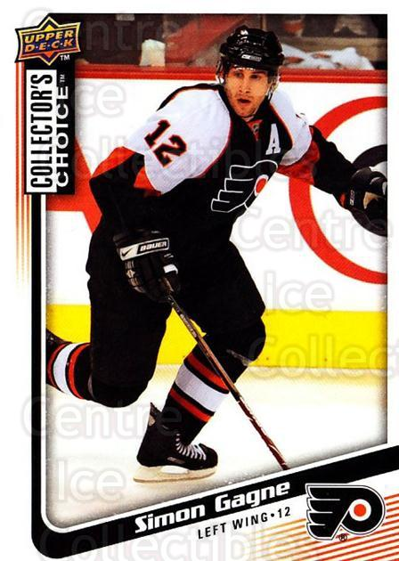 2009-10 Collectors Choice #135 Simon Gagne<br/>4 In Stock - $1.00 each - <a href=https://centericecollectibles.foxycart.com/cart?name=2009-10%20Collectors%20Choice%20%23135%20Simon%20Gagne...&quantity_max=4&price=$1.00&code=287117 class=foxycart> Buy it now! </a>