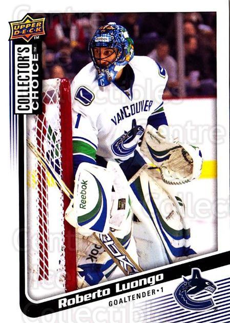 2009-10 Collectors Choice #138 Roberto Luongo<br/>3 In Stock - $1.00 each - <a href=https://centericecollectibles.foxycart.com/cart?name=2009-10%20Collectors%20Choice%20%23138%20Roberto%20Luongo...&quantity_max=3&price=$1.00&code=287120 class=foxycart> Buy it now! </a>