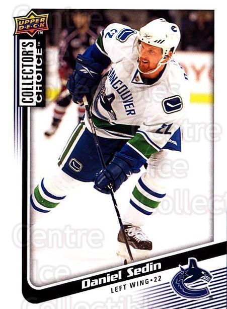 2009-10 Collectors Choice #143 Daniel Sedin<br/>3 In Stock - $1.00 each - <a href=https://centericecollectibles.foxycart.com/cart?name=2009-10%20Collectors%20Choice%20%23143%20Daniel%20Sedin...&quantity_max=3&price=$1.00&code=287125 class=foxycart> Buy it now! </a>