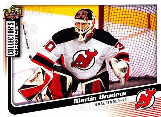 2009-10 Collectors Choice #147 Martin Brodeur<br/>4 In Stock - $2.00 each - <a href=https://centericecollectibles.foxycart.com/cart?name=2009-10%20Collectors%20Choice%20%23147%20Martin%20Brodeur...&quantity_max=4&price=$2.00&code=287129 class=foxycart> Buy it now! </a>