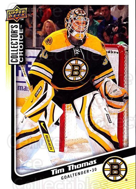 2009-10 Collectors Choice #159 Tim Thomas<br/>4 In Stock - $1.00 each - <a href=https://centericecollectibles.foxycart.com/cart?name=2009-10%20Collectors%20Choice%20%23159%20Tim%20Thomas...&quantity_max=4&price=$1.00&code=287141 class=foxycart> Buy it now! </a>