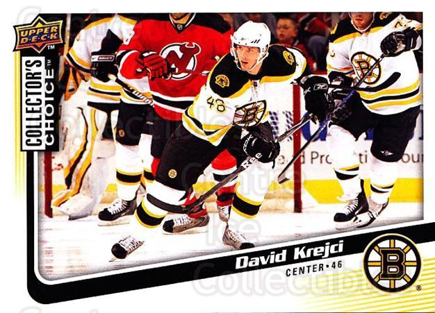 2009-10 Collectors Choice #162 David Krejci<br/>4 In Stock - $1.00 each - <a href=https://centericecollectibles.foxycart.com/cart?name=2009-10%20Collectors%20Choice%20%23162%20David%20Krejci...&quantity_max=4&price=$1.00&code=287144 class=foxycart> Buy it now! </a>