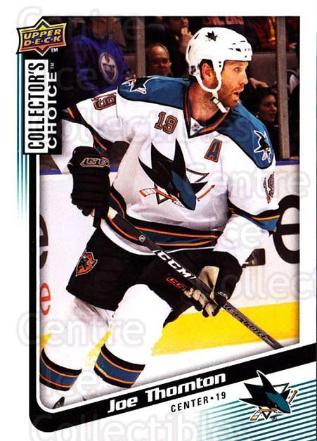 2009-10 Collectors Choice #166 Joe Thornton<br/>4 In Stock - $1.00 each - <a href=https://centericecollectibles.foxycart.com/cart?name=2009-10%20Collectors%20Choice%20%23166%20Joe%20Thornton...&quantity_max=4&price=$1.00&code=287148 class=foxycart> Buy it now! </a>