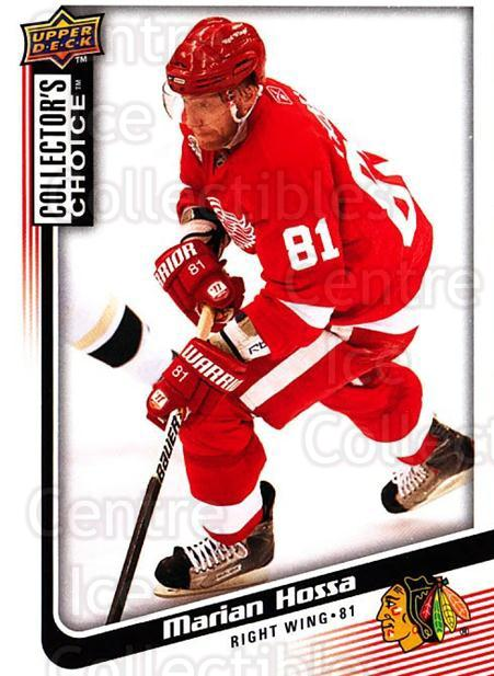 2009-10 Collectors Choice #183 Marian Hossa<br/>4 In Stock - $1.00 each - <a href=https://centericecollectibles.foxycart.com/cart?name=2009-10%20Collectors%20Choice%20%23183%20Marian%20Hossa...&quantity_max=4&price=$1.00&code=287165 class=foxycart> Buy it now! </a>