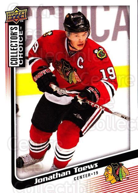 2009-10 Collectors Choice #186 Jonathan Toews<br/>4 In Stock - $2.00 each - <a href=https://centericecollectibles.foxycart.com/cart?name=2009-10%20Collectors%20Choice%20%23186%20Jonathan%20Toews...&quantity_max=4&price=$2.00&code=287168 class=foxycart> Buy it now! </a>