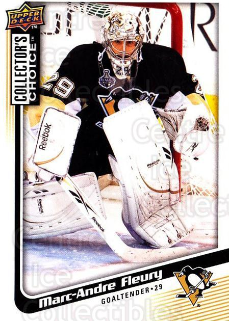 2009-10 Collectors Choice #189 Marc-Andre Fleury<br/>4 In Stock - $2.00 each - <a href=https://centericecollectibles.foxycart.com/cart?name=2009-10%20Collectors%20Choice%20%23189%20Marc-Andre%20Fleu...&quantity_max=4&price=$2.00&code=287171 class=foxycart> Buy it now! </a>