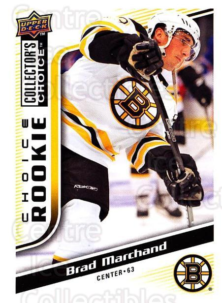 2009-10 Collectors Choice #235 Brad Marchand<br/>1 In Stock - $5.00 each - <a href=https://centericecollectibles.foxycart.com/cart?name=2009-10%20Collectors%20Choice%20%23235%20Brad%20Marchand...&quantity_max=1&price=$5.00&code=287217 class=foxycart> Buy it now! </a>