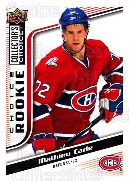2009-10 Collectors Choice #262 Mathieu Carle<br/>3 In Stock - $2.00 each - <a href=https://centericecollectibles.foxycart.com/cart?name=2009-10%20Collectors%20Choice%20%23262%20Mathieu%20Carle...&quantity_max=3&price=$2.00&code=287244 class=foxycart> Buy it now! </a>