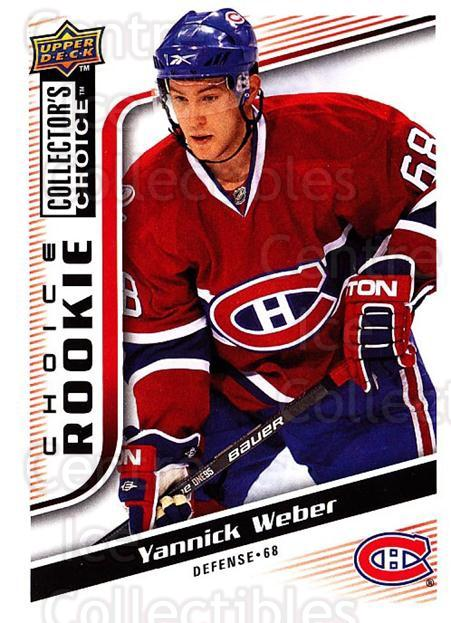 2009-10 Collectors Choice #263 Yannick Weber<br/>7 In Stock - $2.00 each - <a href=https://centericecollectibles.foxycart.com/cart?name=2009-10%20Collectors%20Choice%20%23263%20Yannick%20Weber...&quantity_max=7&price=$2.00&code=287245 class=foxycart> Buy it now! </a>