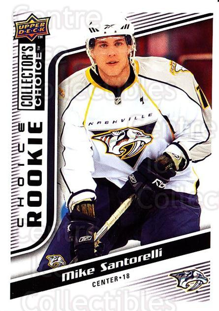 2009-10 Collectors Choice #266 Mike Santorelli<br/>7 In Stock - $2.00 each - <a href=https://centericecollectibles.foxycart.com/cart?name=2009-10%20Collectors%20Choice%20%23266%20Mike%20Santorelli...&quantity_max=7&price=$2.00&code=287248 class=foxycart> Buy it now! </a>