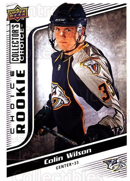 2009-10 Collectors Choice #267 Colin Wilson<br/>7 In Stock - $2.00 each - <a href=https://centericecollectibles.foxycart.com/cart?name=2009-10%20Collectors%20Choice%20%23267%20Colin%20Wilson...&quantity_max=7&price=$2.00&code=287249 class=foxycart> Buy it now! </a>