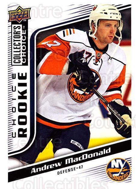 2009-10 Collectors Choice #271 Andrew MacDonald<br/>6 In Stock - $2.00 each - <a href=https://centericecollectibles.foxycart.com/cart?name=2009-10%20Collectors%20Choice%20%23271%20Andrew%20MacDonal...&quantity_max=6&price=$2.00&code=287253 class=foxycart> Buy it now! </a>