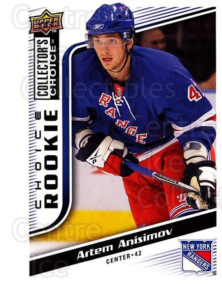 2009-10 Collectors Choice #275 Artem Anisimov<br/>6 In Stock - $2.00 each - <a href=https://centericecollectibles.foxycart.com/cart?name=2009-10%20Collectors%20Choice%20%23275%20Artem%20Anisimov...&quantity_max=6&price=$2.00&code=287257 class=foxycart> Buy it now! </a>