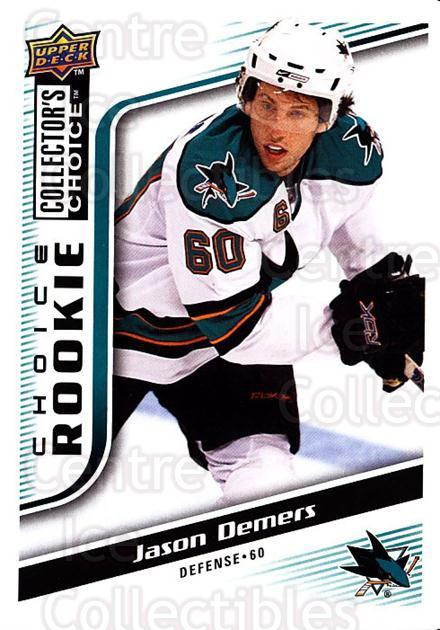 2009-10 Collectors Choice #284 Jason Demers<br/>5 In Stock - $2.00 each - <a href=https://centericecollectibles.foxycart.com/cart?name=2009-10%20Collectors%20Choice%20%23284%20Jason%20Demers...&quantity_max=5&price=$2.00&code=287266 class=foxycart> Buy it now! </a>
