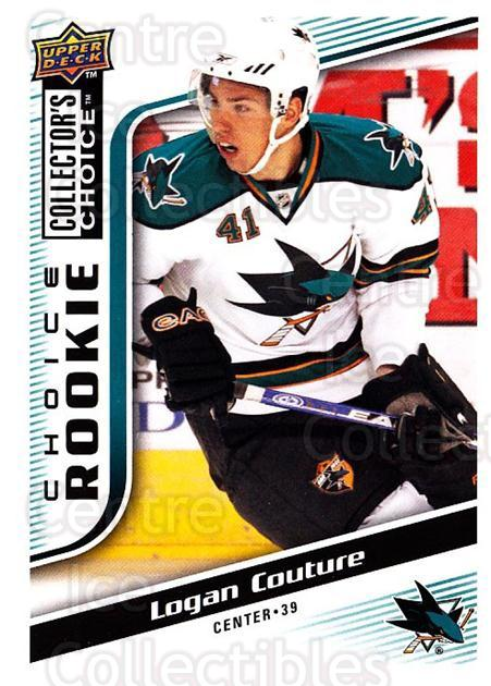 2009-10 Collectors Choice #288 Logan Couture<br/>3 In Stock - $2.00 each - <a href=https://centericecollectibles.foxycart.com/cart?name=2009-10%20Collectors%20Choice%20%23288%20Logan%20Couture...&quantity_max=3&price=$2.00&code=287270 class=foxycart> Buy it now! </a>