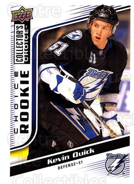 2009-10 Collectors Choice #289 Kevin Quick<br/>2 In Stock - $2.00 each - <a href=https://centericecollectibles.foxycart.com/cart?name=2009-10%20Collectors%20Choice%20%23289%20Kevin%20Quick...&quantity_max=2&price=$2.00&code=287271 class=foxycart> Buy it now! </a>