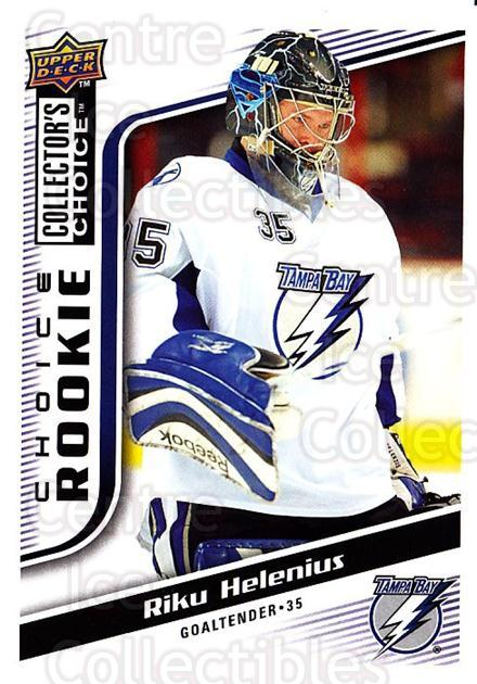 2009-10 Collectors Choice #290 Riku Helenius<br/>4 In Stock - $2.00 each - <a href=https://centericecollectibles.foxycart.com/cart?name=2009-10%20Collectors%20Choice%20%23290%20Riku%20Helenius...&quantity_max=4&price=$2.00&code=287272 class=foxycart> Buy it now! </a>