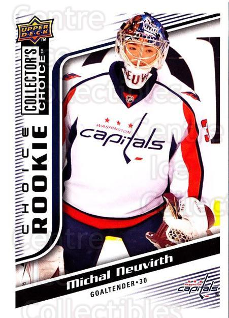 2009-10 Collectors Choice #300 Michal Neuvirth<br/>5 In Stock - $2.00 each - <a href=https://centericecollectibles.foxycart.com/cart?name=2009-10%20Collectors%20Choice%20%23300%20Michal%20Neuvirth...&quantity_max=5&price=$2.00&code=287282 class=foxycart> Buy it now! </a>