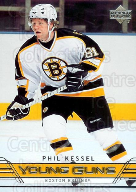 2006-07 Upper Deck #250 Phil Kessel, Checklist<br/>2 In Stock - $5.00 each - <a href=https://centericecollectibles.foxycart.com/cart?name=2006-07%20Upper%20Deck%20%23250%20Phil%20Kessel,%20Ch...&quantity_max=2&price=$5.00&code=287303 class=foxycart> Buy it now! </a>