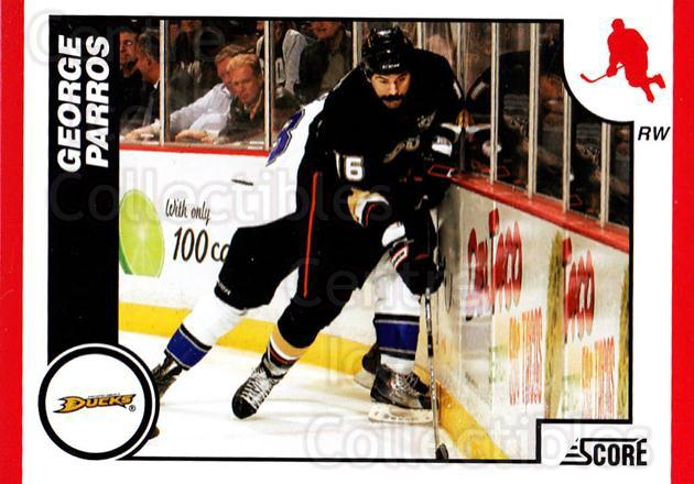 2010-11 Score #40 George Parros<br/>2 In Stock - $1.00 each - <a href=https://centericecollectibles.foxycart.com/cart?name=2010-11%20Score%20%2340%20George%20Parros...&quantity_max=2&price=$1.00&code=287491 class=foxycart> Buy it now! </a>
