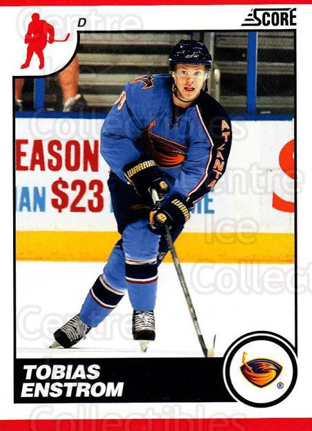 2010-11 Score #61 Tobias Enstrom<br/>3 In Stock - $1.00 each - <a href=https://centericecollectibles.foxycart.com/cart?name=2010-11%20Score%20%2361%20Tobias%20Enstrom...&quantity_max=3&price=$1.00&code=287512 class=foxycart> Buy it now! </a>