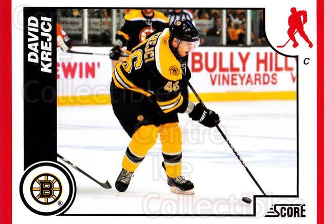 2010-11 Score #68 David Krejci<br/>3 In Stock - $1.00 each - <a href=https://centericecollectibles.foxycart.com/cart?name=2010-11%20Score%20%2368%20David%20Krejci...&quantity_max=3&price=$1.00&code=287519 class=foxycart> Buy it now! </a>