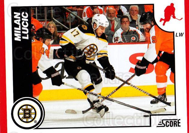 2010-11 Score #70 Milan Lucic<br/>3 In Stock - $1.00 each - <a href=https://centericecollectibles.foxycart.com/cart?name=2010-11%20Score%20%2370%20Milan%20Lucic...&quantity_max=3&price=$1.00&code=287521 class=foxycart> Buy it now! </a>
