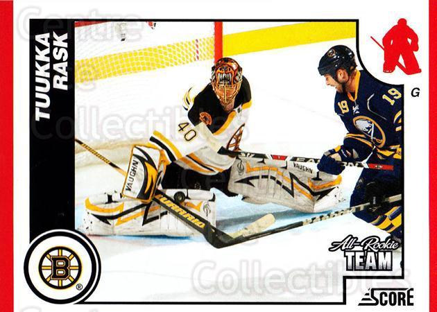 2010-11 Score #79 Tuukka Rask<br/>1 In Stock - $2.00 each - <a href=https://centericecollectibles.foxycart.com/cart?name=2010-11%20Score%20%2379%20Tuukka%20Rask...&quantity_max=1&price=$2.00&code=287530 class=foxycart> Buy it now! </a>