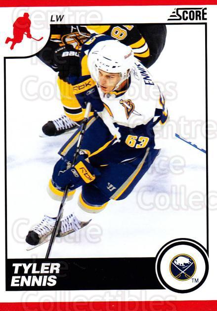 2010-11 Score #88 Tyler Ennis<br/>2 In Stock - $1.00 each - <a href=https://centericecollectibles.foxycart.com/cart?name=2010-11%20Score%20%2388%20Tyler%20Ennis...&quantity_max=2&price=$1.00&code=287539 class=foxycart> Buy it now! </a>