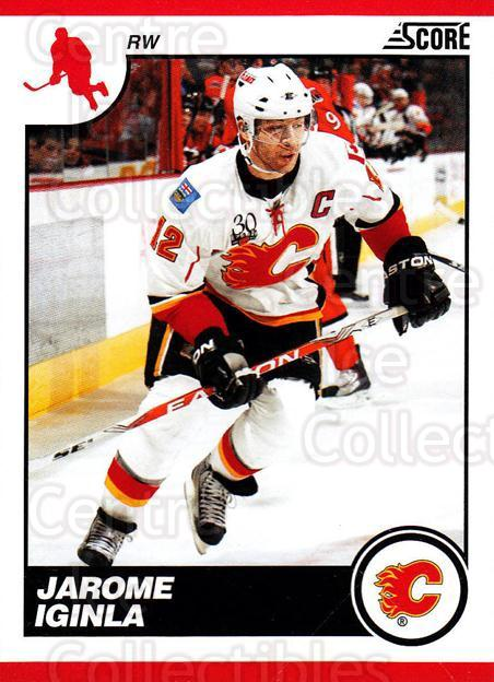 2010-11 Score #96 Jarome Iginla<br/>3 In Stock - $1.00 each - <a href=https://centericecollectibles.foxycart.com/cart?name=2010-11%20Score%20%2396%20Jarome%20Iginla...&quantity_max=3&price=$1.00&code=287547 class=foxycart> Buy it now! </a>