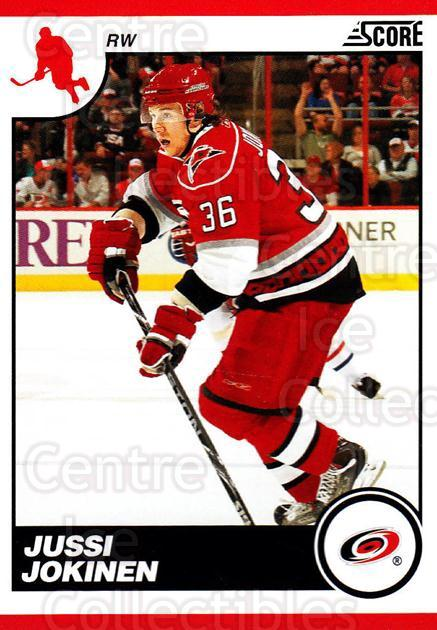 2010-11 Score #115 Jussi Jokinen<br/>3 In Stock - $1.00 each - <a href=https://centericecollectibles.foxycart.com/cart?name=2010-11%20Score%20%23115%20Jussi%20Jokinen...&quantity_max=3&price=$1.00&code=287566 class=foxycart> Buy it now! </a>
