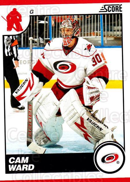 2010-11 Score #124 Cam Ward<br/>2 In Stock - $1.00 each - <a href=https://centericecollectibles.foxycart.com/cart?name=2010-11%20Score%20%23124%20Cam%20Ward...&quantity_max=2&price=$1.00&code=287575 class=foxycart> Buy it now! </a>